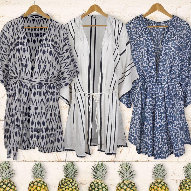 A versatile summer piece; the robe kimono is ideal for the beach or your city strolls! #kimono #summer #style #stylish #fashion #accessories #achilleas_accessories