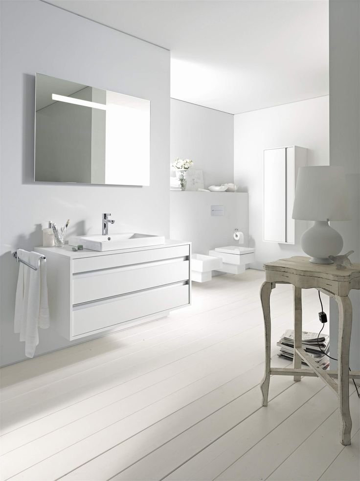 Duravit 1920 Bathroom Collection In A White Finish #bathroom #modern #white  #Yorkshire