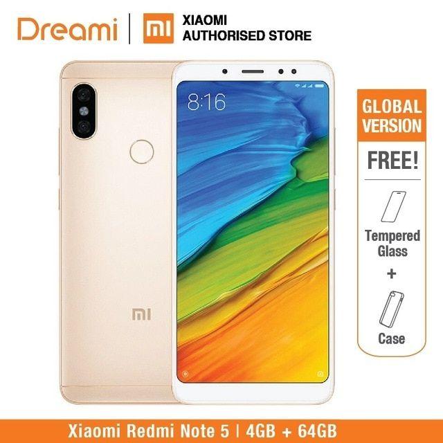 Global Version Xiaomi Redmi Note 5 64gb Rom 4gb Ram Official Rom Redmi Note5 Review 64gb Xiaomi Note 5