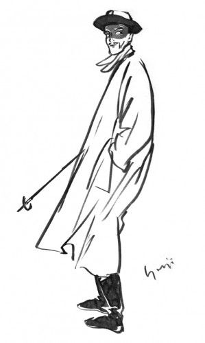 of Yohji Yamamoto's semi-autobiographical book  My Dear Bomb.
