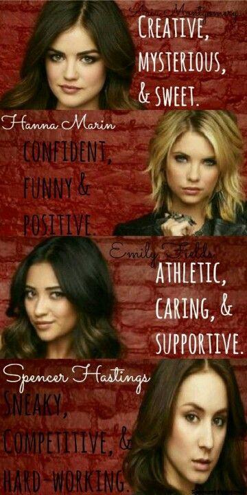 Lucy Hale (Aria) , Ashley Benson (Hanna) , Shay Mitchell (Emily) , & Troian Bellisario (Spencer) - Pretty Little Liars