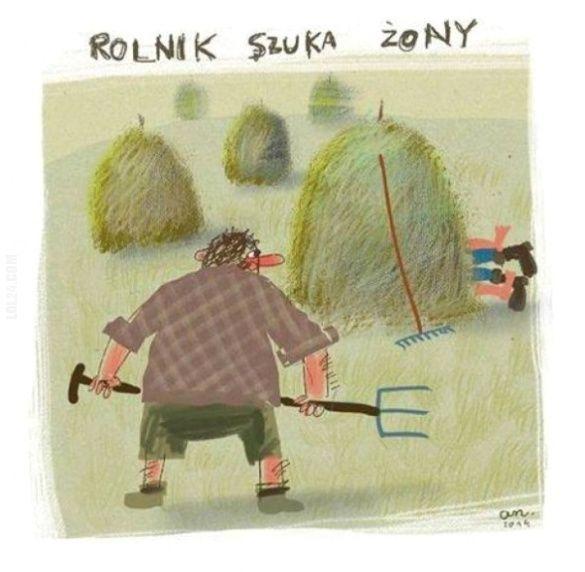 ROLNIK SZUKA ŻONY #rolnik #szuka #żony #rysunkowe