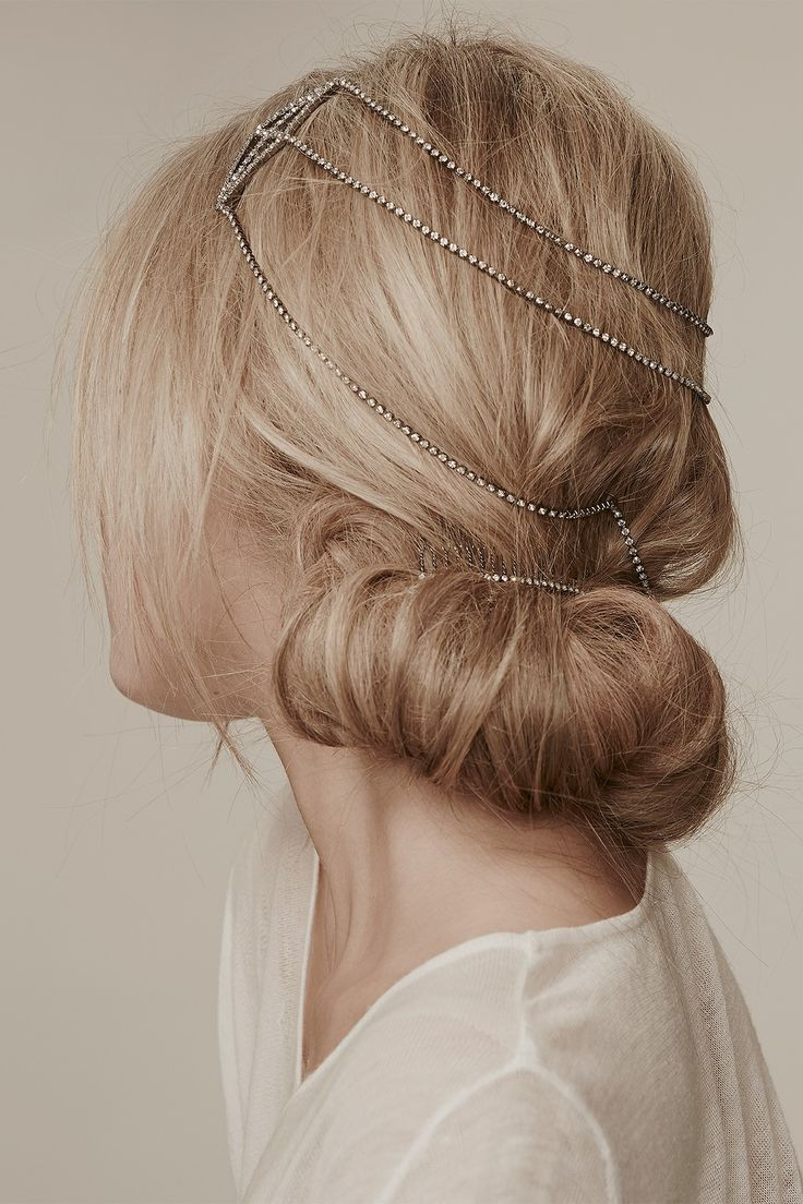 Hair accessories for updos hairstyles - This Rhinestone Hair Accessory Would Be Perfect For A New Years Updo Or Gatsby Party