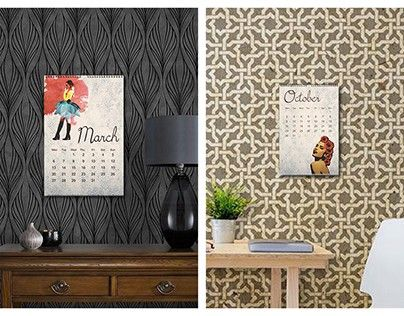 """Check out new work on my @Behance portfolio: """"Bloom 2017 Calender"""" http://be.net/gallery/61112031/Bloom-2017-Calender"""