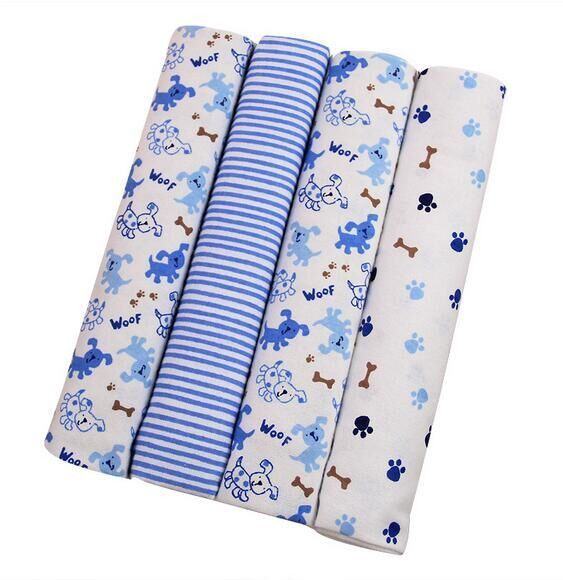 Free shipping 4 pcs/lot gift Newborn 100% cotton baby blanket infant aden anais muslin swaddle cobertor toddler atrq0013