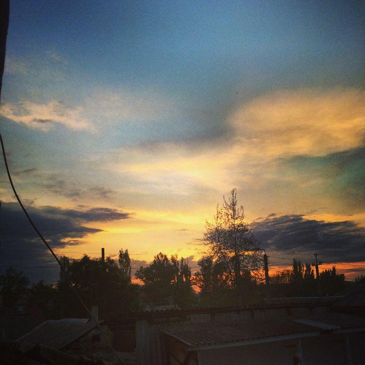 #рассвет #закат