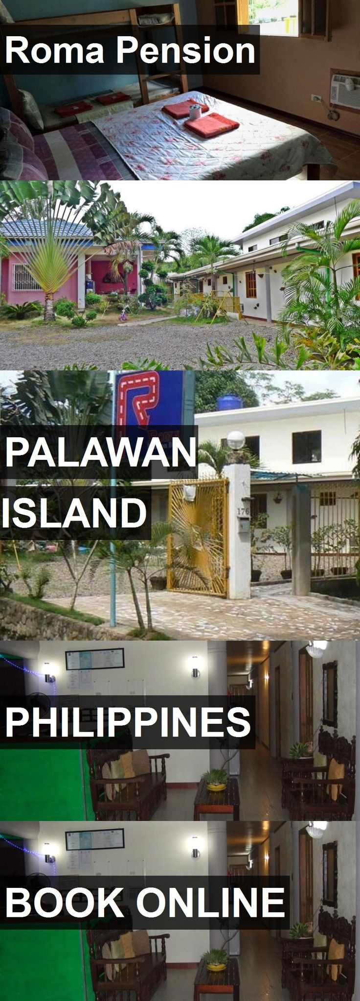 Hotel Roma Pension in Palawan Island, Philippines. For more information, photos, reviews and best prices please follow the link. #Philippines #PalawanIsland #travel #vacation #hotel