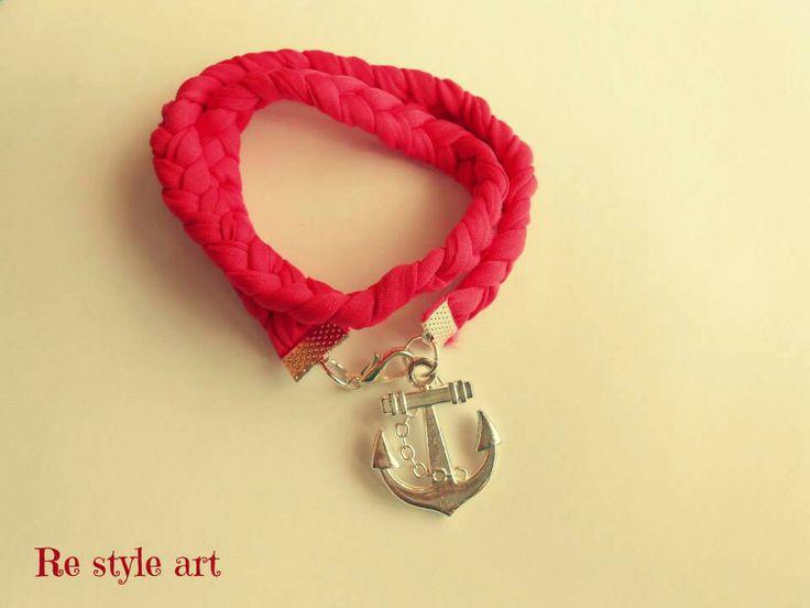 ~anchor bracelet Handmade♡}