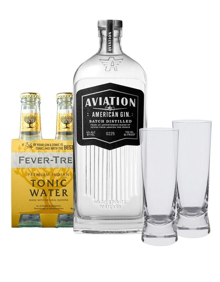 Aviation Gin Gin Tonic Gift Set Buy Online Or Send As A Gift