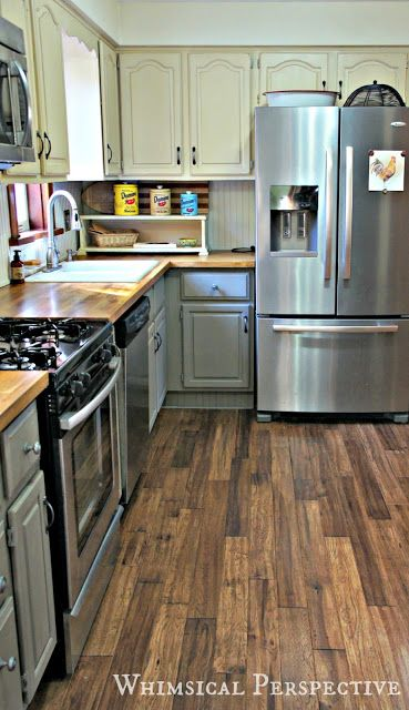 my kitchen cabinets with chalk paint the update by whimsical perspective - Chalk Paint Ideas Kitchen