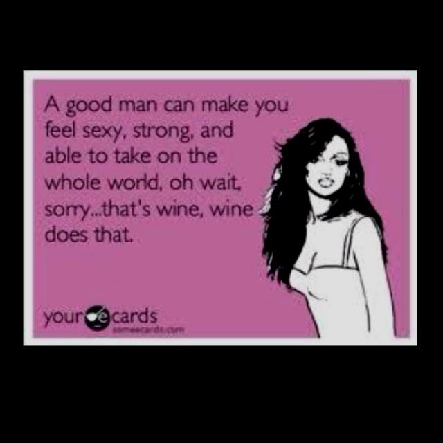 Wine... or vodka! lol