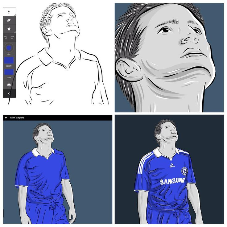 The legend of my life - Frank Lampard  #art #artwork #artwokoftheday #mobileart #digitalart #vectorart #vector #adobe #adobeideas #fansart #draw #drawing #illustration #doodle #graphic #graphicdesign #legend #franklampard #chelseafc #chelsea #frank #footballplayer #football #epl #workinprogress