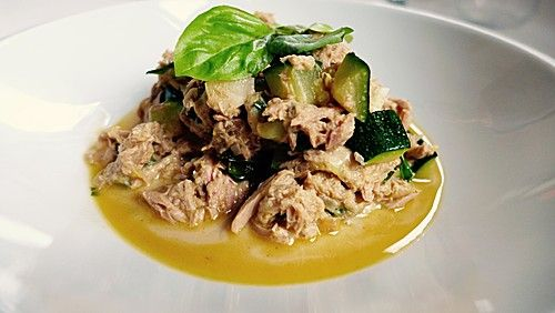 Zucchini - Thunfischpfanne