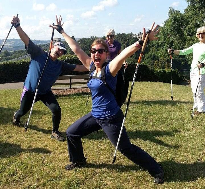How to use Nordic walking to trim, tone and lose inches   Bristol Nordic Walking
