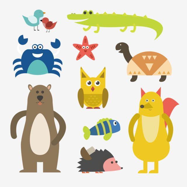 Gambar Haiwan Kartun Corak Haiwan Haiwan Comel Corak Hiasan Clipart Haiwan Zoo Kesayangan Kartun Haiwan Peliharaan Png Dan Vektor Untuk Muat Turun Percuma Cute Animals Animal Pictures Cartoon Animals
