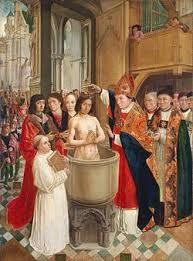 (32) 496 – Durante el pontificado de Anastasio II, El rey Clodoveo I se convirtió al cristianismo con lo que el pueblo franco fue el primero de los germánicos que se hizo cristiano.