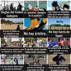 Futbol de Locura: Meme del Día: Reglas del Fútbol callejero