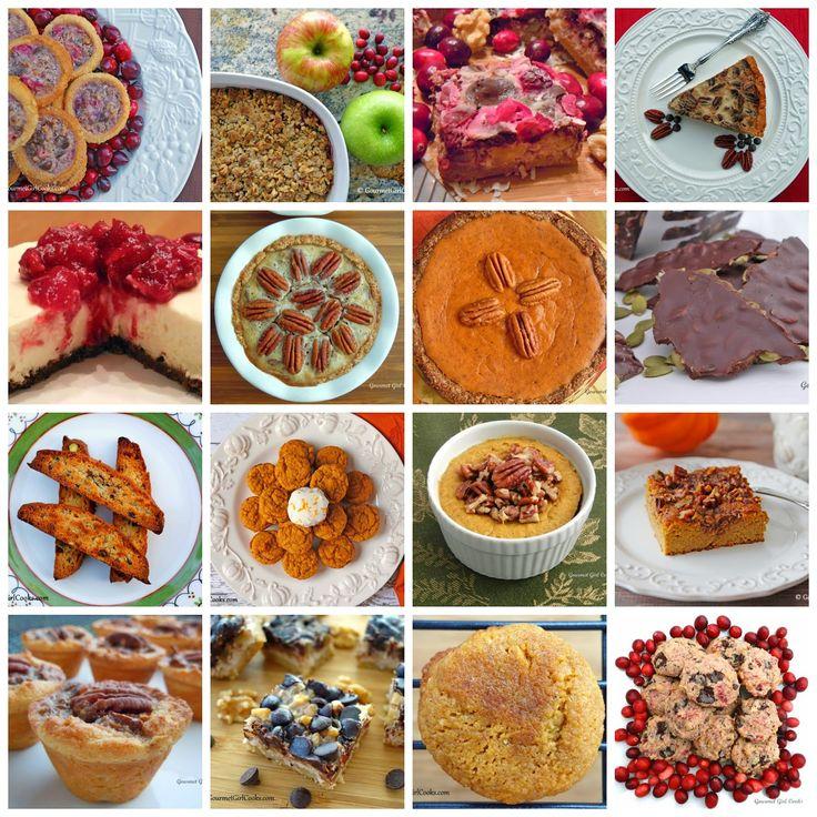 Gourmet Girl Cooks 16 Thanksgiving Dessert Recipes Low