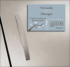 imã de geladeira save the date - Pesquisa Google