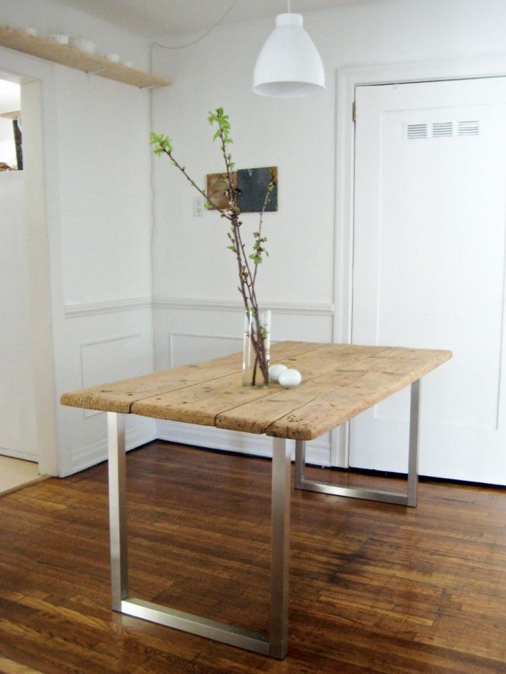 DIY Dining Table Project from Fay McAuliffe of You Are The River | Remodelista