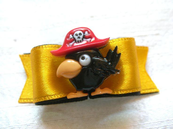 Noeud pour chien simple coque 5/8 Perroquet pirate : Animaux par bowsnoeuds