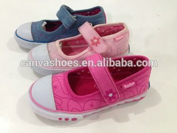 Girls Kids Canvas Casual Hand painted shoes