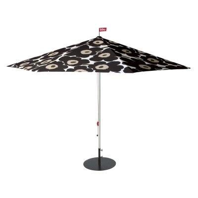 (click twice for updated pricing and more info) #market_umbrella #outdoor_umbrellas http://www.plainandsimpledeals.com/prod.php?node=46965=Aluminum_Patio_Umbrellas_-_Fatboy_Flowerpowersol_11-ft._Unikko_Black_Market_Umbrella_-_FAT053#