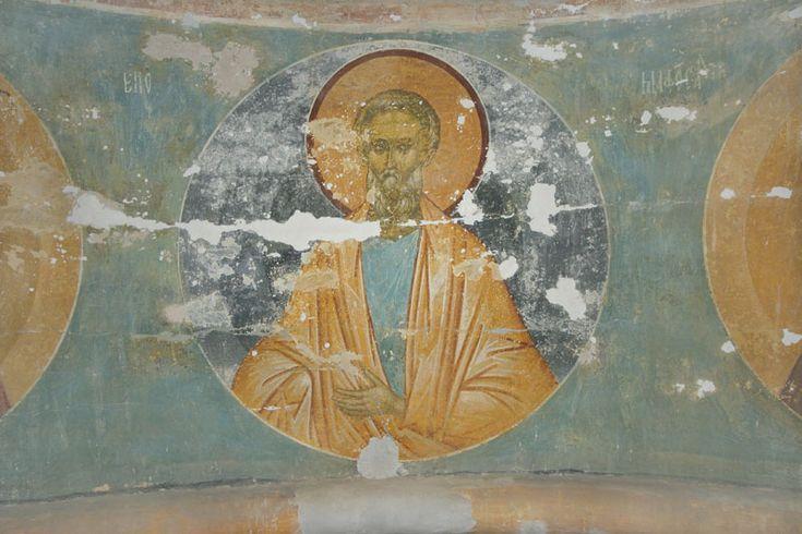 Музей фресок Дионисия - Купол, барабан и паруса - Праотец Енос