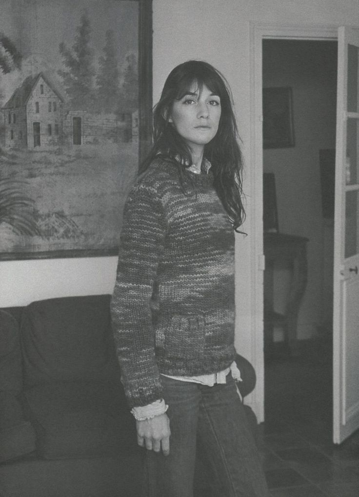 Charlotte Gainsbourg featured in SELF SERVICE N° ...