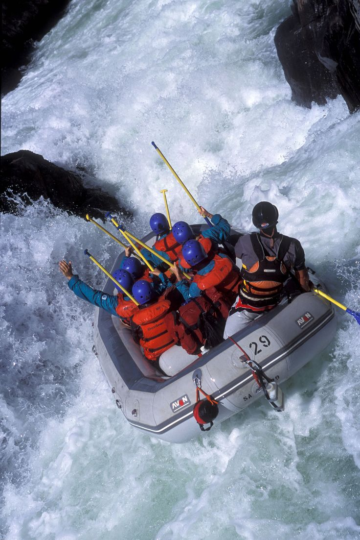 Whitewater Rafting. I have done this and it was a blast. I want to go again and again....of course, it was only a class 3, but I DID IT!