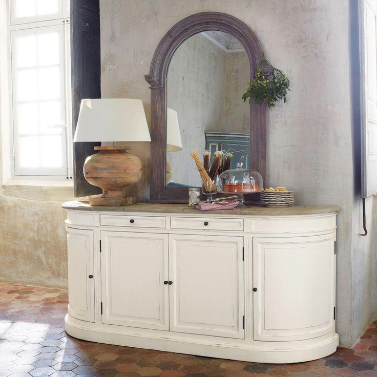 anrichte aus birkenholz elfenbein diningroom pinterest maison du monde provence et le monde. Black Bedroom Furniture Sets. Home Design Ideas