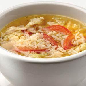 Recept - Kippensoep met Chinese kool - Allerhande