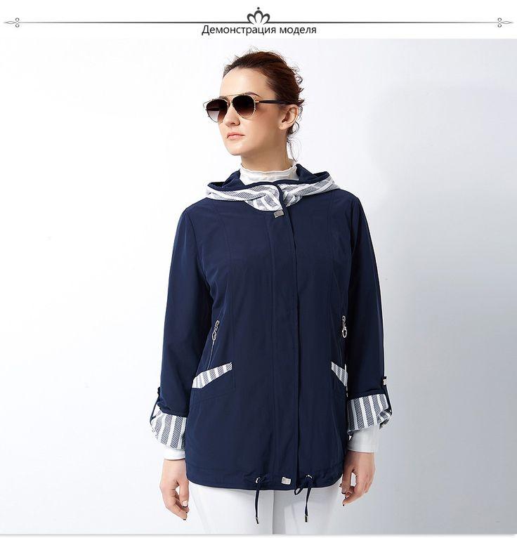 Астрид Новый 2017 пальто высокого качества для женщин Плюс Размер Женщин ветровки Весеннее пальто Большой размер Женские пальто AS 2800 купить на AliExpress