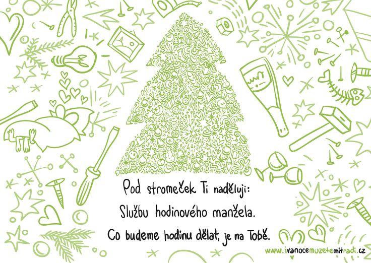 Tenhle můj dárek Tě bude bavit. ☺ Užij si Vánoce!