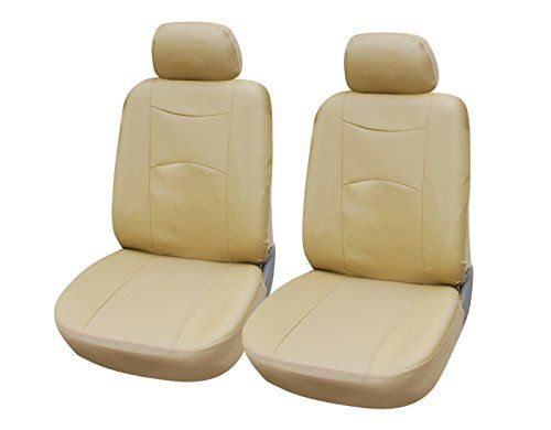 115903 Tanleather Like 2 Front Car Seat Covers Compatible to Audi A4 A5 A7 A3 Sportback etron A8 L A8 L W12 S8 plus Allroad 20172007 ** Click image to review more details.Note:It is affiliate link to Amazon.