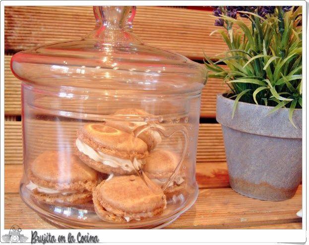 Macarons De Cafe Y Caramelos Werther S Original Macarons Receta