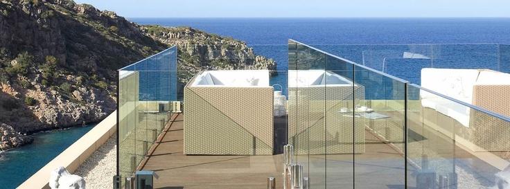 With a Sea View.  Daios Cove Luxury Resort & Villas, Crete, Greece.