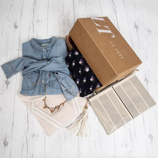 Le Tote, $59/month for unlimited boxes | 17 Gorgeous Subscription Boxes Stylish People Will Love