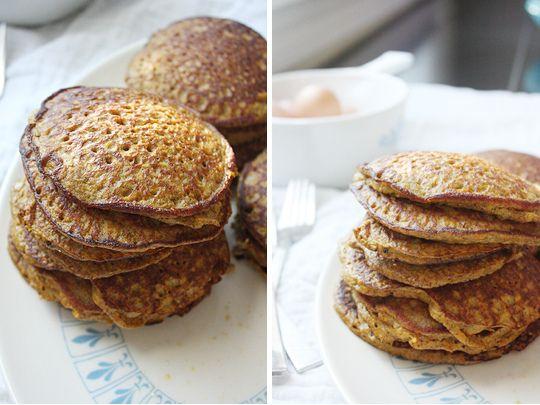 grain free butternut pancakes. only 5 ingredients!