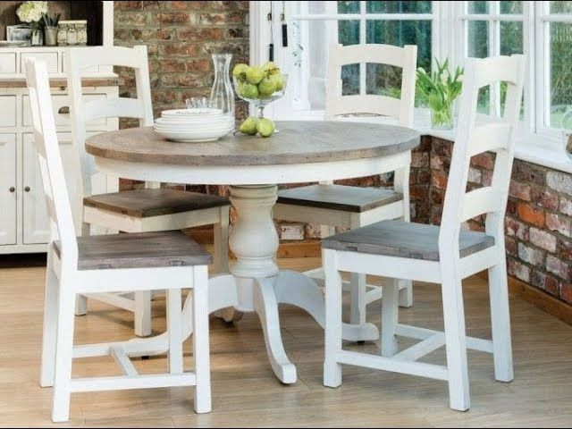 Round Dining Table Sets, Round Farmhouse Kitchen Table Sets
