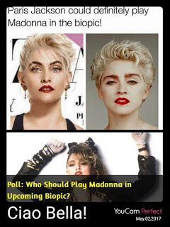 """Madonna is reportedly having her own biopic!   According to Deadline, Universal pictures has secured the rights to the movie called """"Blon..."""