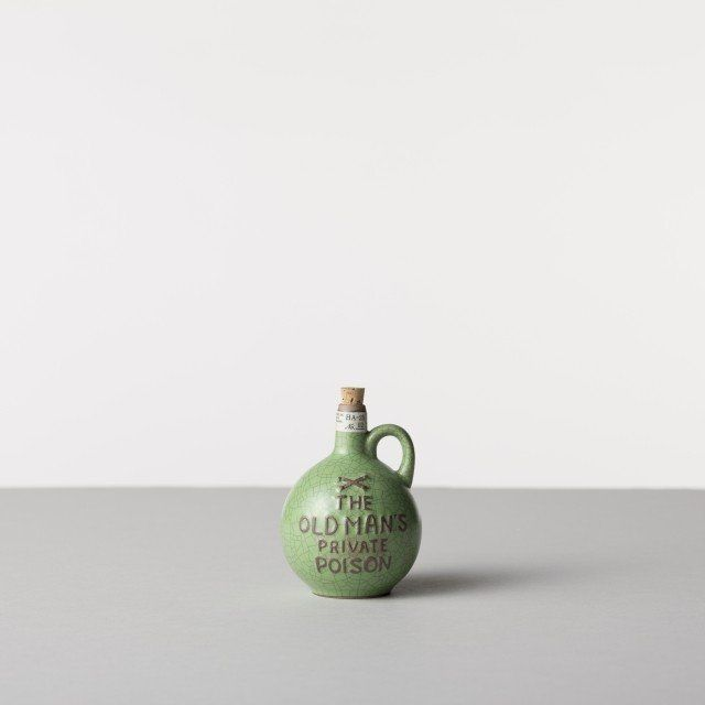 "BOTTLE MINI - 2 from HASAMI  ""Old man's private poison"" ;-) #pottery #Japan #Hasami"