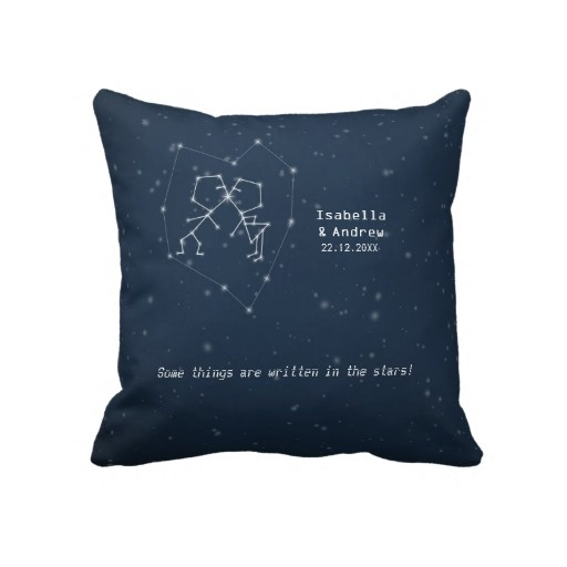 Love Constellation - Wedding Anniversary Pillow