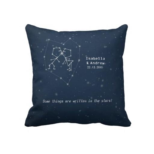 Love Constellation - Wedding Anniversary Pillow