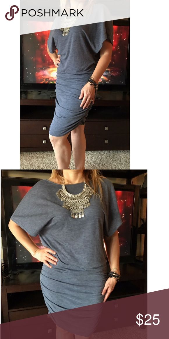 Victoria's Secret Dress Victoria's Secret Dress Grey Size M Victoria's Secret Dresses Midi