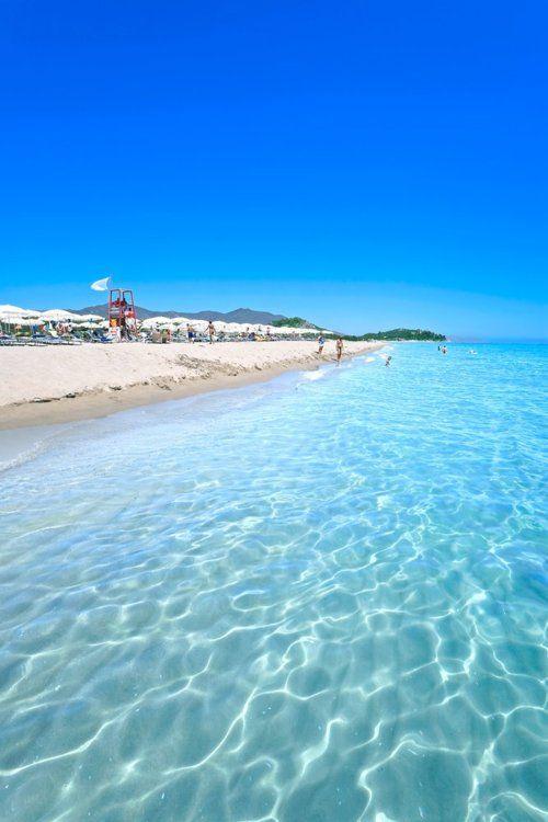 Sardegna Region, Italy         this is a really pretty beach