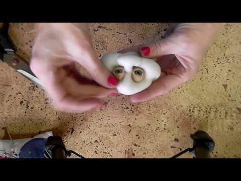 """Мастер класс по созданию куклы """"Шмелик""""   в скульптурно-текстильной (чулочной) технике, из капрона - YouTube"""