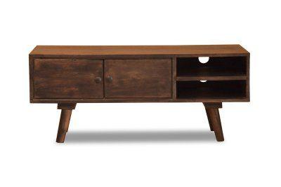 Mango wood retro tv stand, 40 cm high, £199.95
