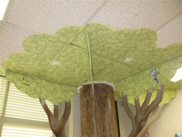 Great idea for our Treehouse themed children's church!
