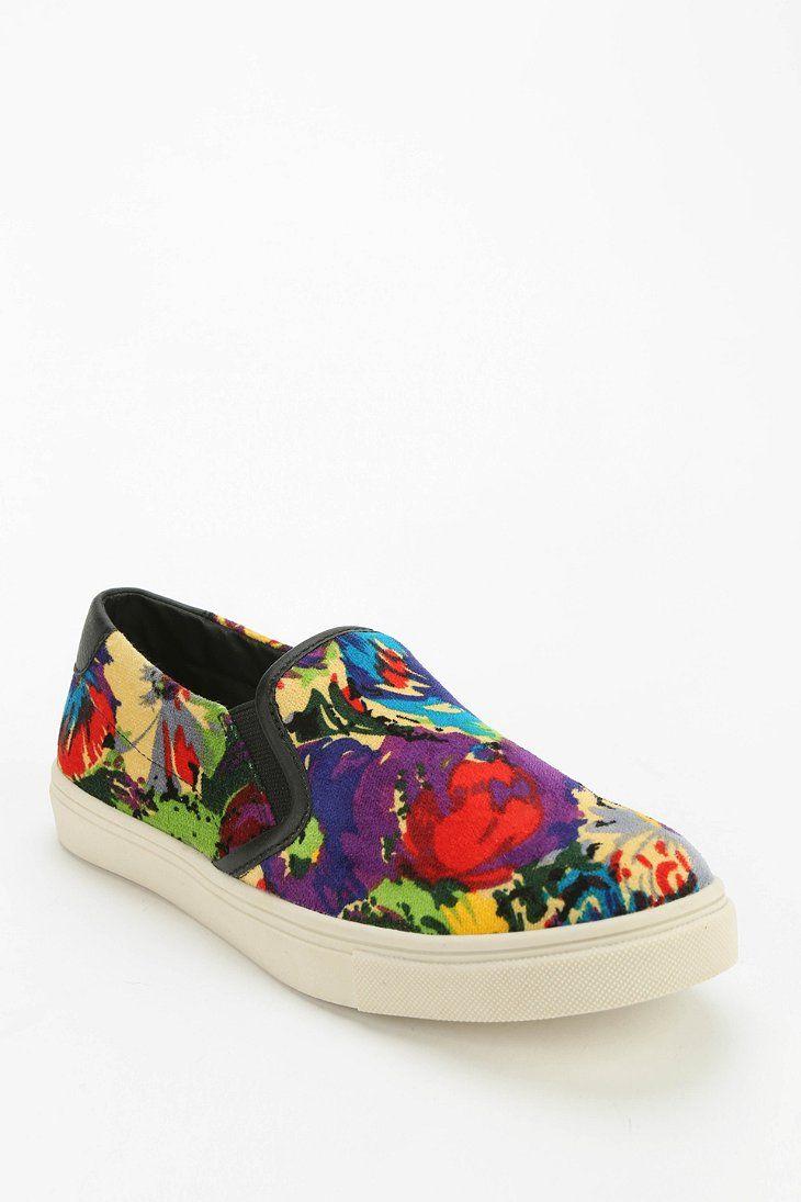 Steve Madden Floral Slip-On Sneaker - Urban Outfitters